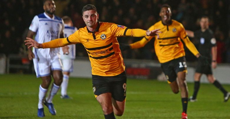 Newport County 2-1 Leicester City
